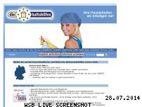 Informationen zur Webseite diehaushaltshilfen.de