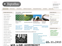 Ranking Webseite digitalbau.hu