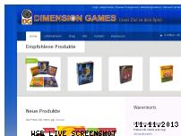 Informationen zur Webseite dimensiongames.de