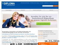 Ranking Webseite diploma.de