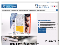 Ranking Webseite displaycompany.de