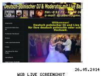 Informationen zur Webseite dj-albert.de
