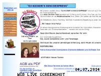 Informationen zur Webseite djkicker.de