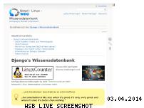Ranking Webseite dokuwiki.nausch.org