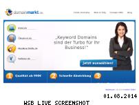 Ranking Webseite domainmarkt.de
