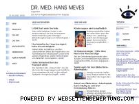 Ranking Webseite dr-meves.de