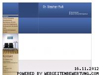 Ranking Webseite dr-russ.de
