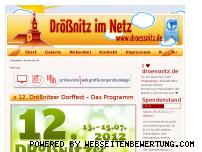 Ranking Webseite droessnitz.de