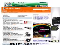 Ranking Webseite druckerchannel.de