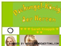 Informationen zur Webseite dschungel-koenigin.de