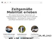 Ranking Webseite e-stations.de