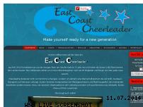 Informationen zur Webseite eastcoast-cheerleader.de