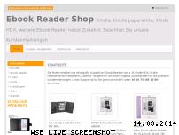 Ranking Webseite ebook-reader-shop.com