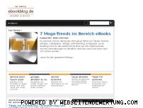 Informationen zur Webseite ebookblog.de