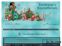 Informationen zur Webseite edeltraudsbastelforum.de