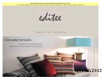 Informationen zur Webseite editee.de