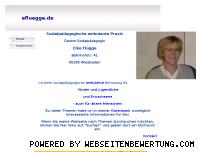 Ranking Webseite efluegge.de