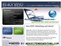 Informationen zur Webseite ehm-edv.de