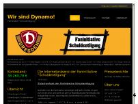 Ranking Webseite ein-herz-fuer-dynamo.de