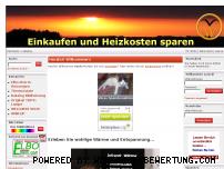 Ranking Webseite einkaufen-und-heizkosten-sparen.de