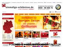 Ranking Webseite einmalige-erlebnisse.de