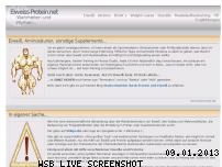 Ranking Webseite eiweiss-protein.net