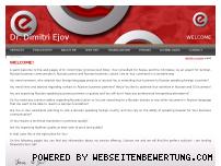 Ranking Webseite ejov.de