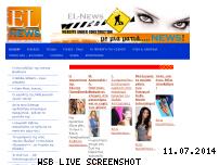 Informationen zur Webseite el-news.jimdo.com