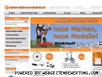 Ranking Webseite elektrofahrrad-einfach.de