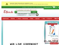 Ranking Webseite elfen.de