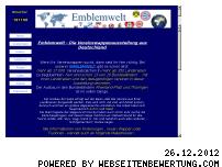 Ranking Webseite emblemwelt.de
