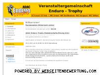 Ranking Webseite enduro-trophy.de