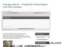 Informationen zur Webseite energie-sparen-angebote.de