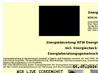 Informationen zur Webseite energiepass-energieausweis.biz
