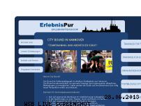 Ranking Webseite erlebnispur.com