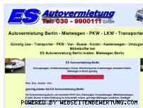 Ranking Webseite esautovermietung.de