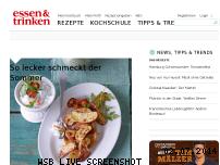 Ranking Webseite essen-und-trinken.de