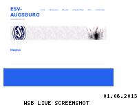 Ranking Webseite esv-augsburg.eu