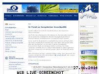 Informationen zur Webseite eu-koordination.de