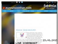 Ranking Webseite eurovisionlive.com