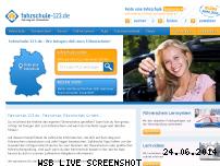 Informationen zur Webseite fahrschule-123.de