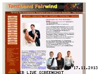 Ranking Webseite fairwindmusik.de