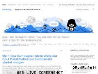 Ranking Webseite fakeblog.de