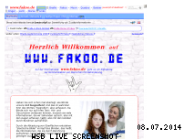 Informationen zur Webseite fakoo.de