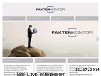 Ranking Webseite faktenkontor.de