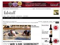 Ranking Webseite falstaff.de