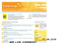 Ranking Webseite familylounge.de