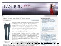 Ranking Webseite fashion-guru.de