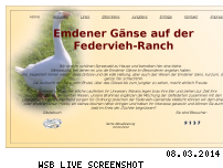 Ranking Webseite federvieh-ranch.de