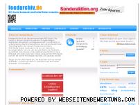 Ranking Webseite feedarchiv.de